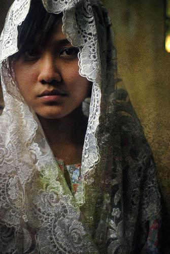 フリー画像| 人物写真| 女性ポートレイト| アジア女性| マレーシア人| スカーフ|