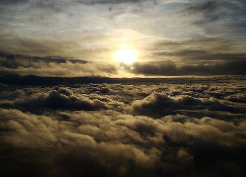 フリー画像| 自然風景| 空の風景| 雲の風景| 暗雲の風景|