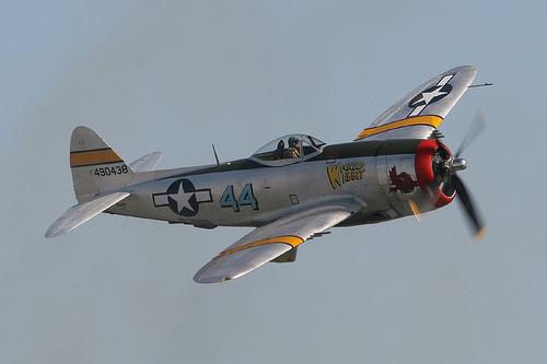 フリー画像|航空機/飛行機|軍用機|戦闘機|レシプロ機|P-47サンダーボルト|P-47DThunderbolt|