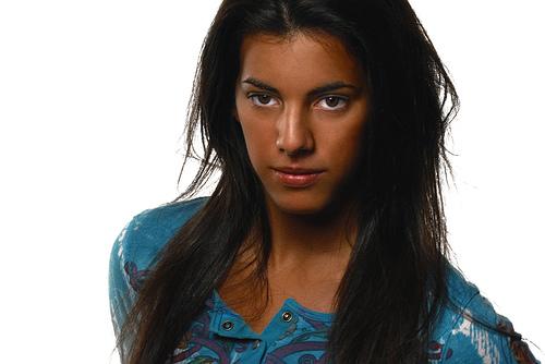 フリー画像| 人物写真| 女性ポートレイト| ラテン系女性| 黒髪|