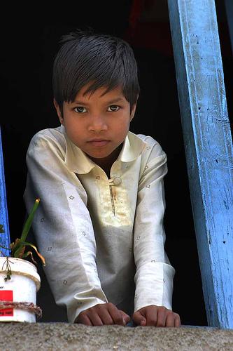 フリー画像| 人物写真| 子供ポートレイト| 少年/男の子| 外国の子供| インド人|