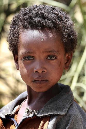 フリー画像| 人物写真| 子供ポートレイト| 少年/男の子| 外国の子供| エチオピア人| アフリカの子供|