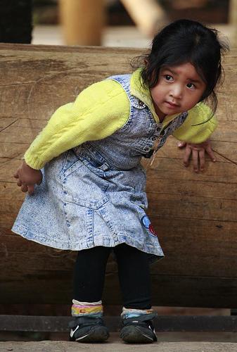 フリー画像| 人物写真| 子供ポートレイト| 少女/女の子| 外国の子供| 中国人|