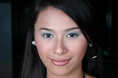 フリー画像| 人物写真| 女性ポートレイト| アジア女性| フィリピン人| 黒髪|