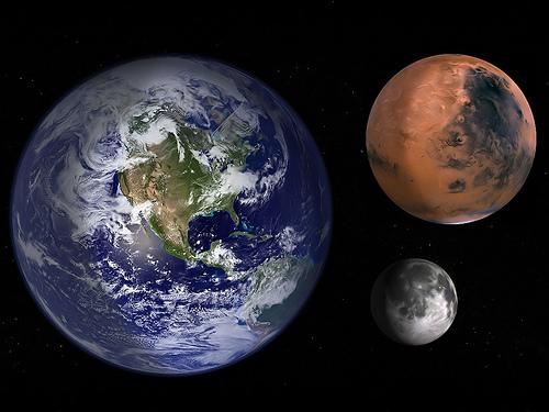 フリー画像| 自然風景| 地球/アース| 宇宙/スペース| 惑星/プラネット| 火星/マース| 月の風景|