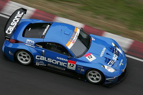 フリー画像| 自動車| レーシングカー| 日産/Nissan| 日産 フェアレディZ| NISMO 350Z| 日本車|