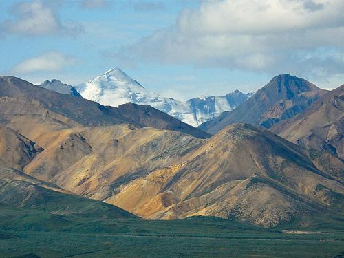 フリー画像| 自然風景| 山の風景| アラスカ山脈| デナリ/マッキンリー| デナリ国立公園| アメリカ風景|
