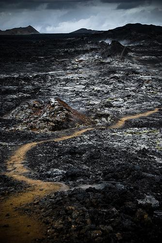 フリー画像| 自然風景| 溶岩の風景| 火山の風景| アイスランド|
