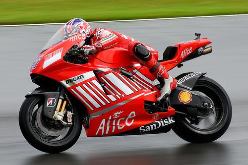 フリー画像| バイク/オートバイ| MotoGP| Donington Park GP| ケーシー・ストーナー/Casey Stoner|