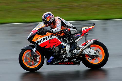 フリー画像| バイク/オートバイ| MotoGP| Donington Park GP| ダニ・ペドロサ/Dani Pedrosa|