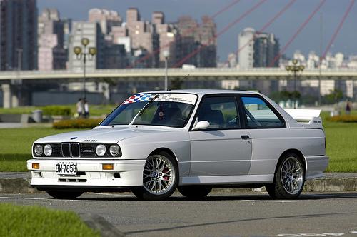 フリー画像| 自動車| スポーツカー| BMW| BMW E30 M3 Evolution| ドイツ車|