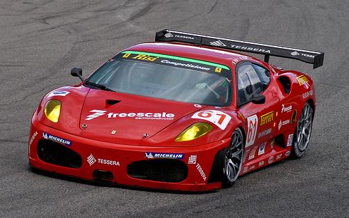 フリー画像| 自動車| レーシングカー| フェラーリ/Ferrari| フェラーリ F430| Ferrari F430| Risi Competizione F430GT| イタリア車|