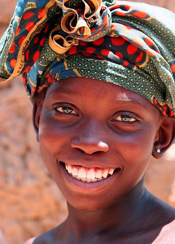 フリー画像| 人物写真| 子供ポートレイト| 少女/女の子| 外国の子供| アフリカの子供| マリ共和国/人物