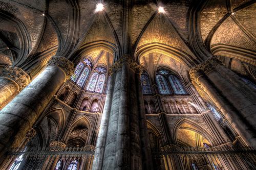 フリー画像| 人工風景| 建造物/建築物| 教会/聖堂| インテリア| HDR画像| フランス風景|     フリー素材|