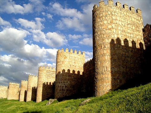 フリー画像| 人工風景| 建造物/建築物| 城/宮殿| スペイン風景|       フリー素材|