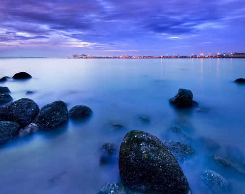 フリー画像| 自然風景| 海岸の風景| 青色/ブルー| 海の風景| シンガポール風景|      フリー素材|