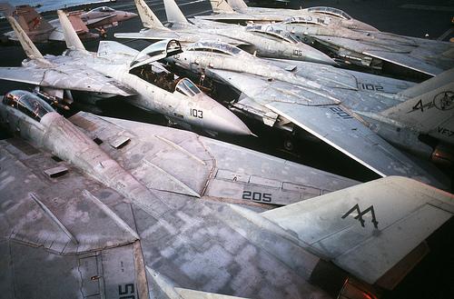 フリー画像| 航空機/飛行機| 軍用機| 戦闘機| F-14 トムキャット| F-14A Tomcat|      フリー素材|