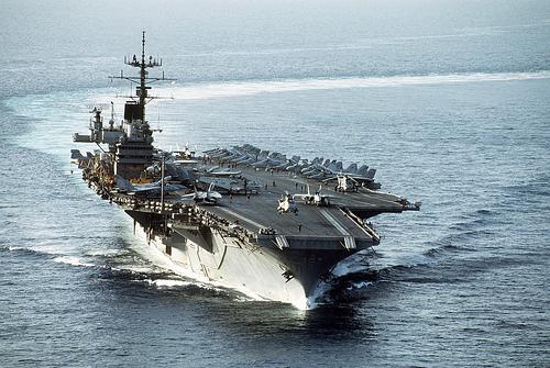 フリー画像| 船舶/ボート| 軍用船| 航空母艦| CVA-60 サラトガ| CVA-60 USS Saratoga|      フリー素材|