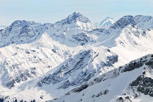 フリー画像|自然風景|山の風景|雪景色|アルプス山脈|スイス風景|フリー素材|
