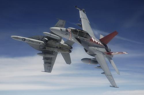 フリー画像| 航空機/飛行機| 軍用機| 戦闘機| F/A-18 ホーネット| F/A-18F Super Hornet|      フリー素材|