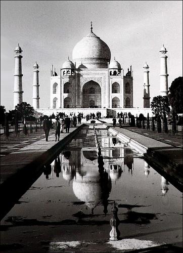 フリー画像| 人工風景| 建造物/建築物| タージ・マハル| 世界遺産/ユネスコ| インド風景|      フリー素材|