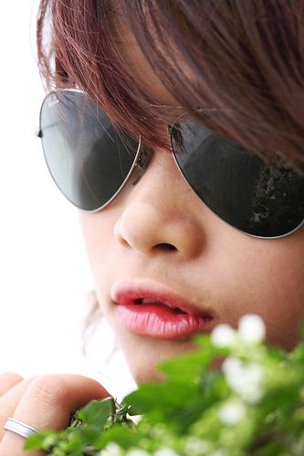 フリー画像| 人物写真| 女性ポートレイト| アジア女性| サングラス|       フリー素材|