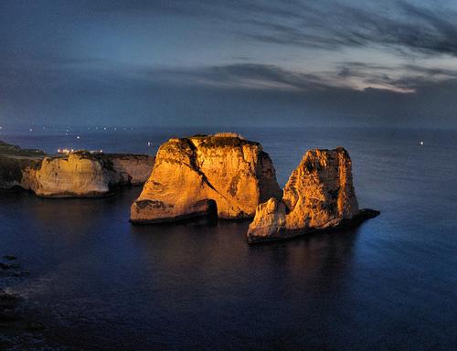 フリー画像| 自然風景| 島の風景| 海の風景| レバノン風景|       フリー素材|