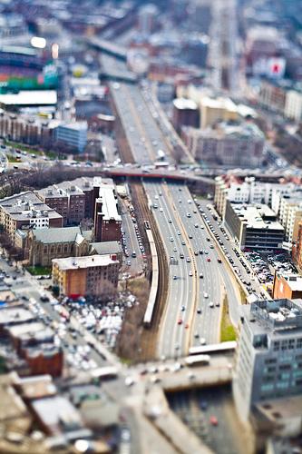 フリー画像| 人工風景| 道の風景| ティルト・シフト| 街の風景| アメリカ風景|      フリー素材|