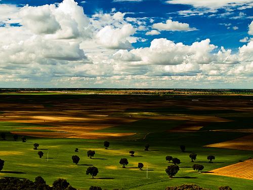 フリー画像| 自然風景| 平原の風景| 雲の風景|        フリー素材|