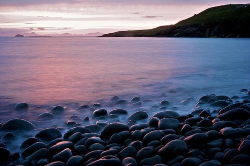 フリー画像| 自然風景| 海の風景| 海岸の風景| 夕日/夕焼け/夕暮れ|       フリー素材|