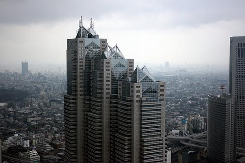 フリー画像| 人工風景| 建造物/建築物| ビルディング| 日本風景| 東京|      フリー素材|