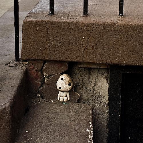 フリー画像| 物/モノ| おもちゃ/トイ| 人形| 木霊/こだま| もののけ姫|      フリー素材|