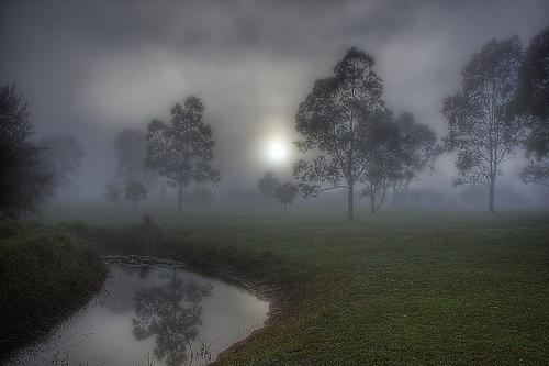 フリー画像| 自然風景| 霧/靄| 河川の風景| 樹木の風景| 暗雲の風景| HDR画像|     フリー素材|