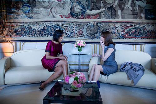 フリー画像| ニュース系| ミシェル・オバマ/Michelle Obama| 黒人| アメリカ人| 人物写真|      フリー素材|