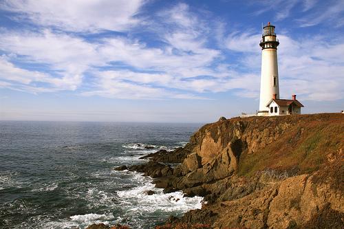 フリー画像| 人工風景| 建造物/建築物| 灯台/ライトハウス| 海岸の風景| アメリカ風景|      フリー素材|