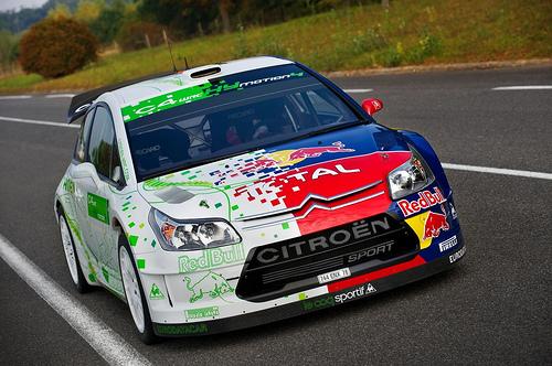 フリー画像| 自動車| ラリーカー| シトロエン/Citroen| シトロエン C4| Citroen C4 WRC HY Motion 4| フランス車|     フリー素材|
