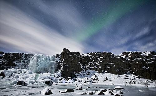 フリー画像| 自然風景| オーロラ| 空の風景| 夜景| 夜空の風景| 雪景色|     フリー素材|