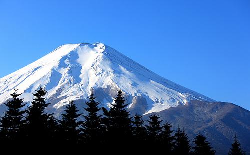 フリー画像| 自然風景| 山の風景| 富士山| 日本風景| 雪景色|      フリー素材|