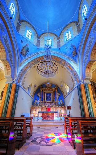 フリー画像| 人工風景| 建造物/建築物| 教会/聖堂| インテリア| ギリシア風景|      フリー素材|