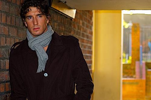フリー画像| 人物写真| 男性ポートレイト| 外国人男性| イケメン| コート|      フリー素材|