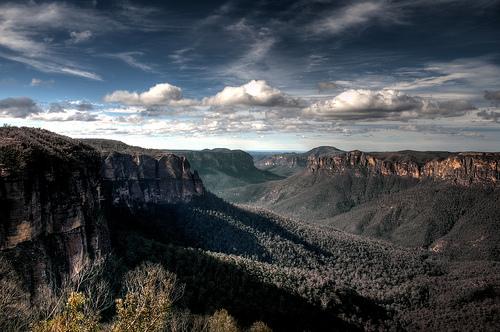 フリー画像| 自然風景| 山の風景| 雲の風景| オーストラリア風景|       フリー素材|