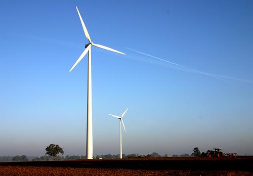 フリー画像| 人工風景| 建造物/建築物| 風車| 風力発電| ドイツ風景|      フリー素材|