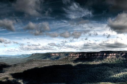 フリー画像| 自然風景| 空の風景| 雲の風景| 山の風景| オーストラリア風景|      フリー素材|