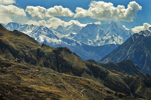 フリー画像| 自然風景| 山の風景| 雲の風景| ヒマラヤ山脈|       フリー素材|