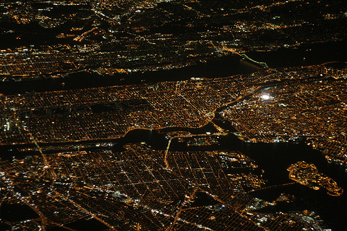 フリー画像| 人工風景| 街の風景| 航空写真| 夜景| アメリカ風景| ニューヨーク|     フリー素材|