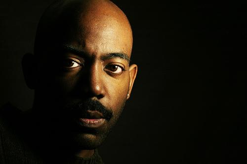 フリー画像| 人物写真| 男性ポートレイト| 外国人男性| 黒人| 黒色/ブラック|      フリー素材|