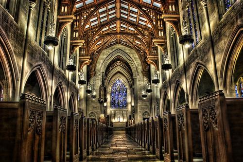 フリー画像| 人工風景| 建造物/建築物| 教会/聖堂| インテリア| HDR画像|      フリー素材|