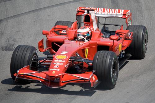 フリー画像| 自動車| レーシングカー| F1/フォーミュラー1| フェラーリ/Ferrari| キミ・ライコネン/Kimi Raikkonen| 2008 カナダGP|     フリー素材|